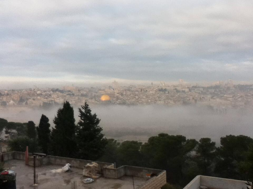 Jerusalem in the morning