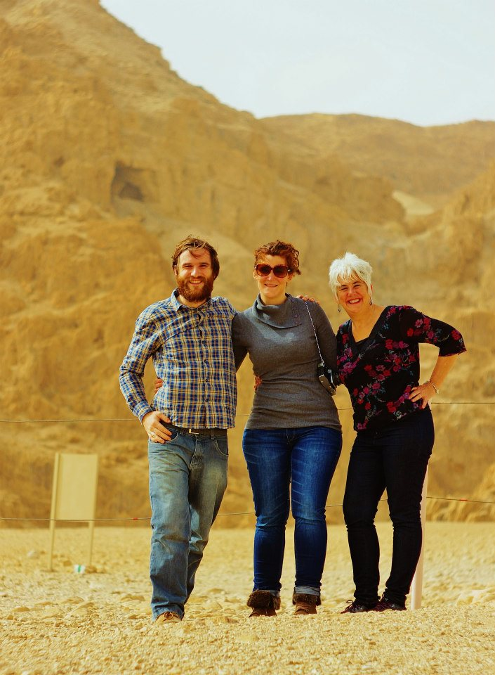 Team at Qumran