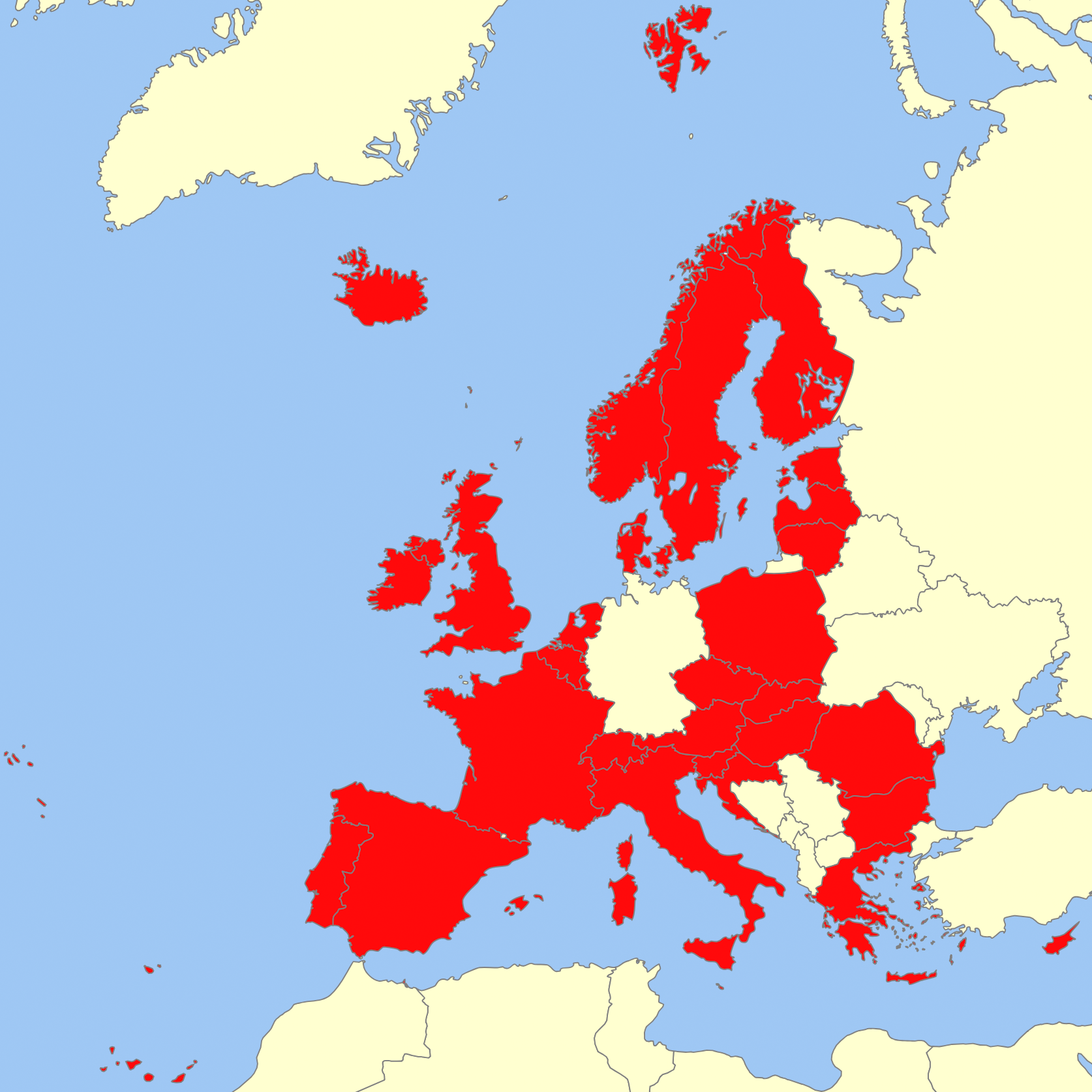 European Map // ToTheStreets International